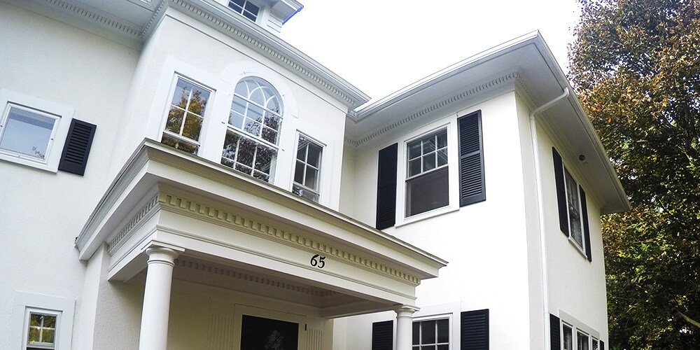 Hanson home exterior renovations