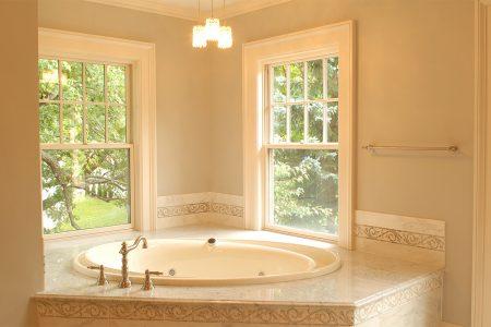 bathroom renovations - soaker tub