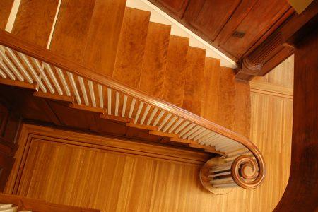 design build team staircase